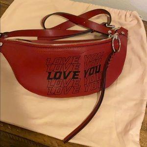 NEW Rebecca Minkoff Love You Belt Bag